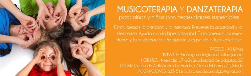 taller musicoterapia niños oviedo