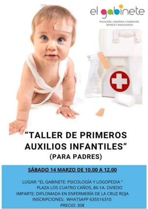 taller primeros auxilios infantiles